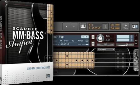 Native Instruments Scarbee MM-Bass Amped v1.1.0 KONTAKT