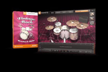 Toontrack Vintage Rock EZX v1.5.3 Superior Drummer EZDrummer