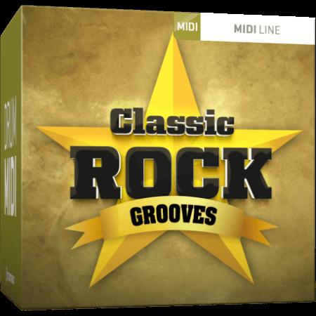 Toontrack Classic Rock Grooves MiDi MiDi WiN MacOSX