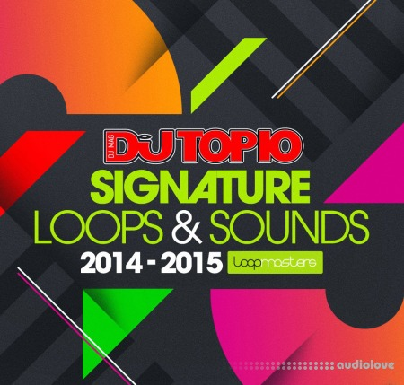 Loopmasters Top 10 DJs Signature Loops and Sounds WAV MiDi