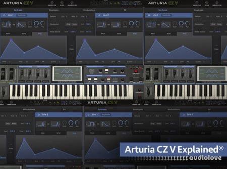 Groove3 Arturia CZ V Explained TUTORiAL