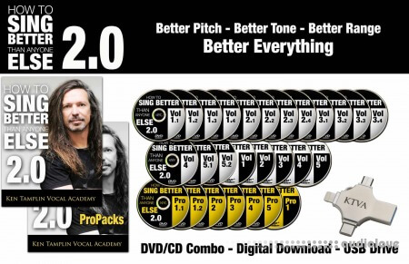 Ken Tamplin Vocal Academy How To Sing Better Than Anyone Else 2.0 Pro Bundle TUTORiAL