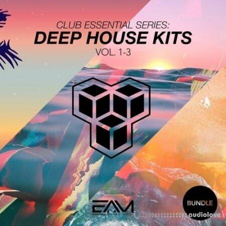 Essential Audio Media Club Essential Series Deep House Kits Vol.1-3 Bundle WAV MiDi Synth Presets