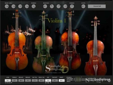 Kirk Hunter Spotlight Strings 4D