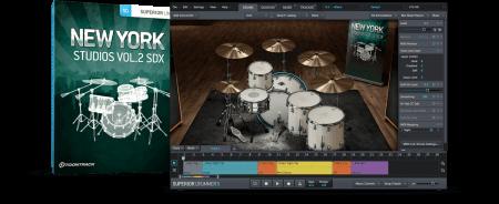 Toontrack New York Studios Vol.2 SDX v1.5.0 Superior Drummer