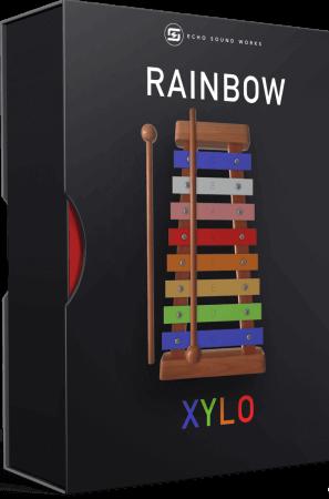 Echo Sound Works Rainbow Toy Xylophone