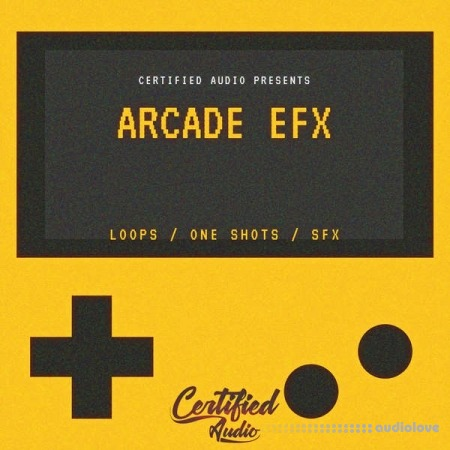 Certified Audio Arcade EFX WAV MiDi Synth Presets
