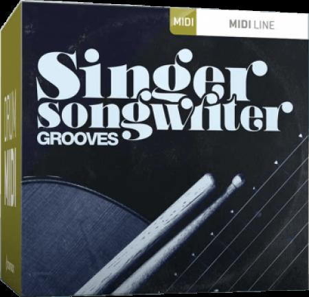 Toontrack Singer-Songwriter Grooves MiDi WiN MacOSX