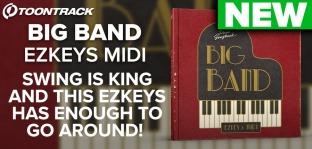Toontrack Big Band EZkeys MiDi