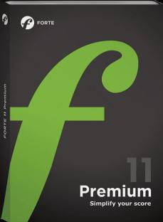 FORTE Notation FORTE 11 Premium