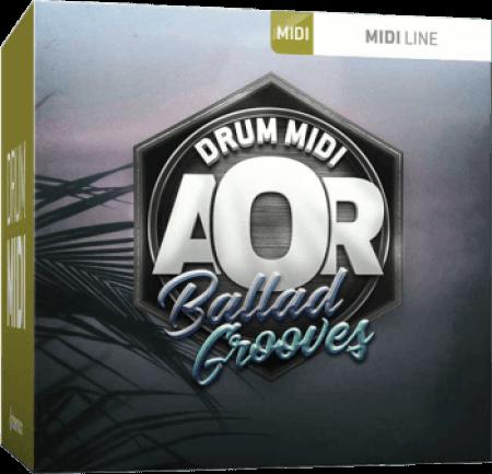Toontrack AOR Ballad Grooves MiDi WiN MacOSX