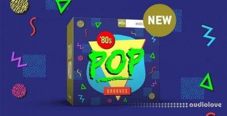 Toontrack Eighties Pop Grooves MiDi WiN MacOSX