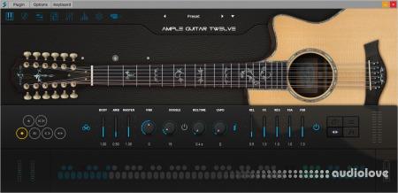 Ample Sound Ample Guitar Twelve III v3.3.0 WiN