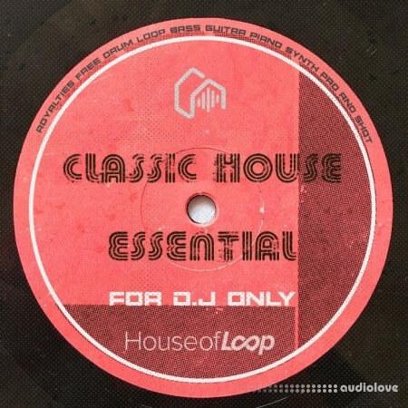House of Loop Classic House Essential WAV MiDi