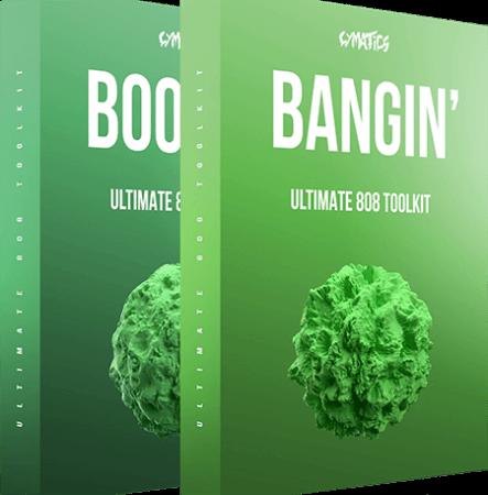 Cymatics Boomin 808s + Bangin 808s WAV Synth Presets