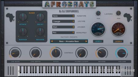 StudioLinkedVST Afrobeats v1.0 WiN MacOSX