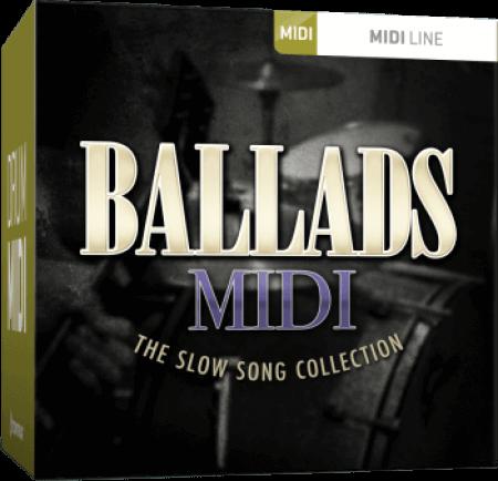 Toontrack Ballads MIDI MiDi MacOSX