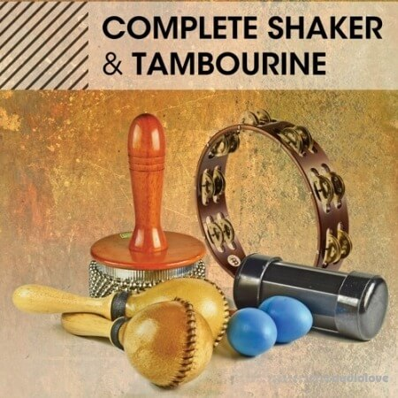 Noisefirm Complete Shaker and Tambourine MULTiFORMAT