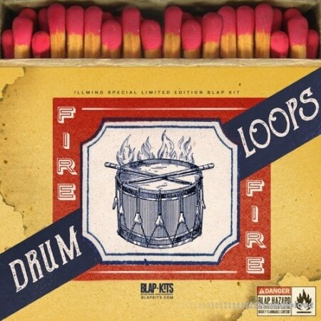 !llmind Fire Drum Loops (Limited Edition Pack)