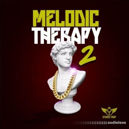 Studio Trap Melodic Therapy Vol.2 WAV MiDi Synth Presets