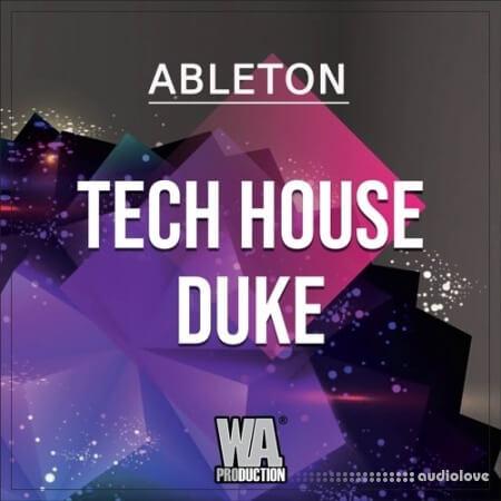 WA Production Tech House Duke WAV MiDi Synth Presets DAW Templates