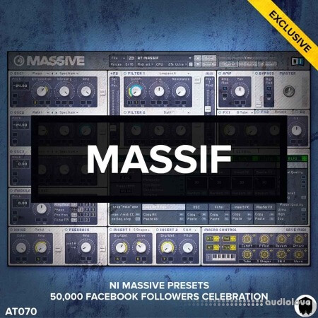 Audiotent Massif WAV MiDi Synth Presets