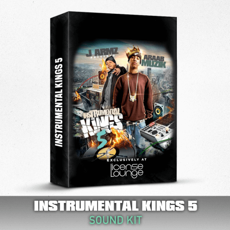 License Lounge AraabMuzik Instrumental Kings Vol.5 Sound Kit WAV