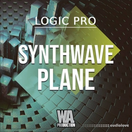 WA Production Synthwave Plane