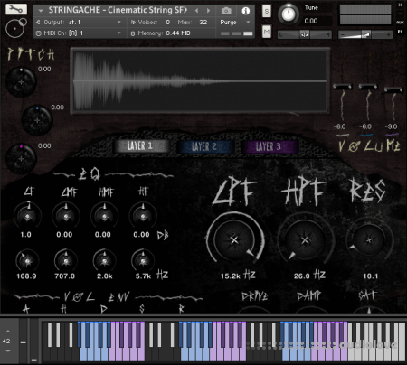 Silence+Other Sounds STRINGACHE KONTAKT
