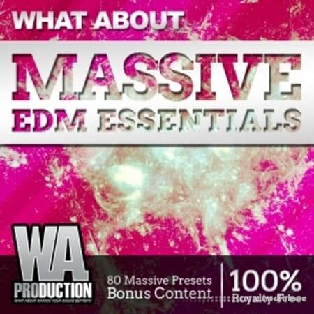 WA Production EDM Massive Essentials