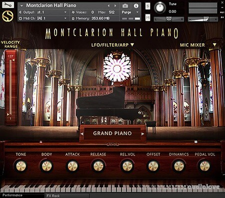 Soundiron Montclarion Hall Grand Piano v2.0 KONTAKT