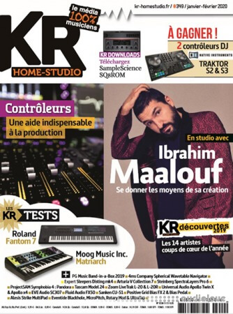 Keyboard Recording Home-Studio – février 2020