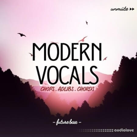 Unmute Modern Vocals Vol.1 WAV MiDi