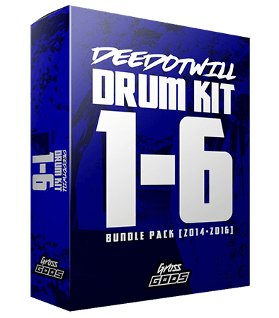 Deedotwill Drum Kits Vol.1-6 Bundle Pack