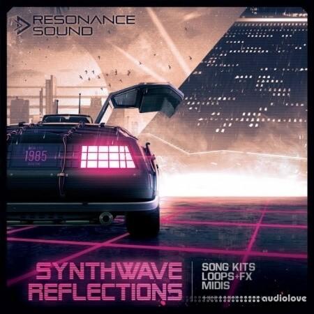 Resonance Sound Synthwave Reflections WAV MiDi