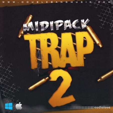 Double Bang Music Trap Midi Pack Vol.2 WAV MiDi