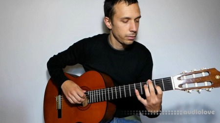 Udemy Fingerpicking guitar for beginners TUTORiAL
