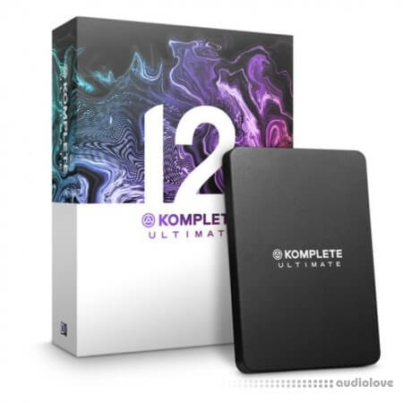 Native Instruments KOMPLETE 12 Ultimate (Online install + Patch) MacOSX