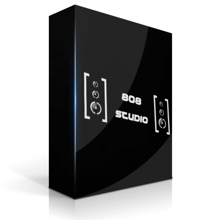 StudioPlug 808 Studio (HQ Mixed Drum Kit) WAV MiDi Synth Presets DAW Templates