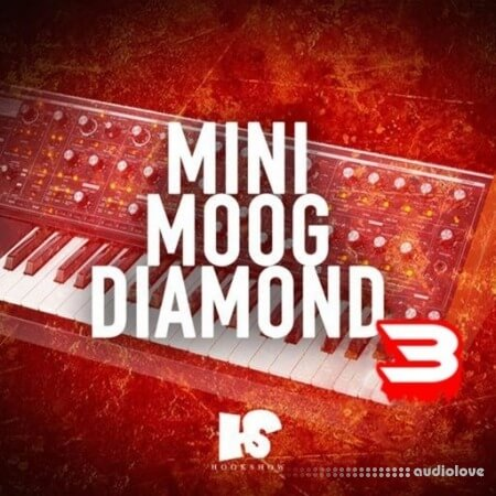 HOOKSHOW Mini Moog Diamond 3 WAV
