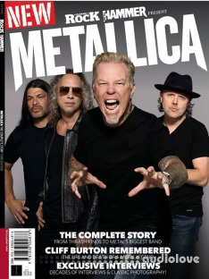 Classic Rock and Metal Hammer Present Metallica 3rd Edition 2019