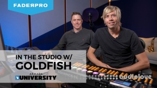 FaderPro In The Studio with Goldfish