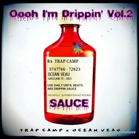 Trap Camp X Ocean Veau Oooh I'm Drippin drum kit Vol.2