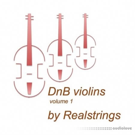 Realstrings Drum and Bass Violins volume 1 WAV