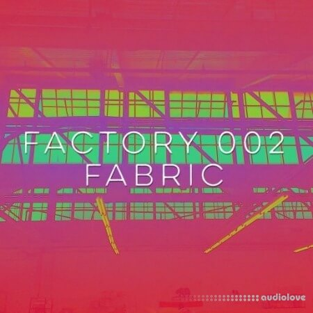 Drum and Lace Factory 002 Fabric