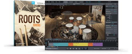 Toontrack Roots Sticks SDX v1.5 | v1.0 Superior Drummer