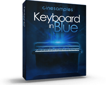 Cinesamples Keyboard in Blue KONTAKT