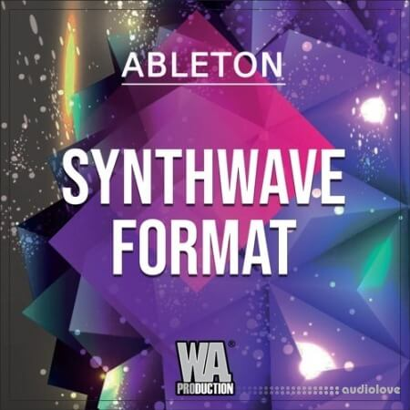 WA Production Synthwave Format WAV MiDi Synth Presets DAW Templates