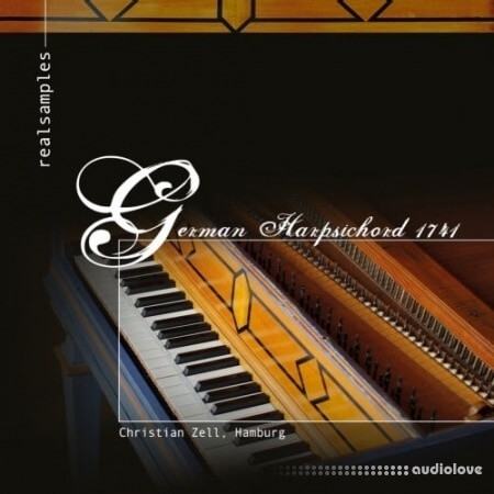 realsamples German Harpsichord 1741 Edition Organeum