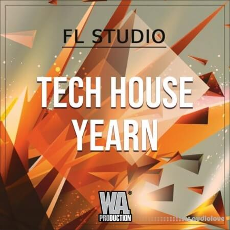 WA Production Tech House Yearn DAW Templates WAV MiDi Synth Presets
